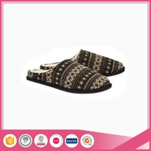 High Quality Lurex Mens Indoor&Outdoor Slippers pictures & photos
