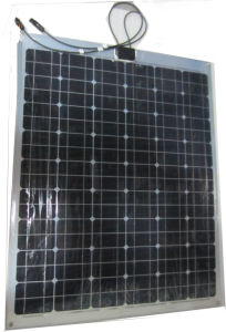 50W Sunpower Cell Semi-Flexible Solar Panel pictures & photos