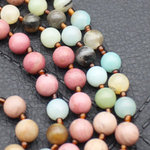 Mixed Natural Stone Long Tassel Necklace pictures & photos
