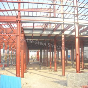 Structure Steel Light Prefabricated Workshop Building in Uruguay pictures & photos