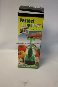 Slap Chop Vegetable Chopper Slicer and Dicer with Bonus Cheese Grater Onion Chopper Esg10167 pictures & photos