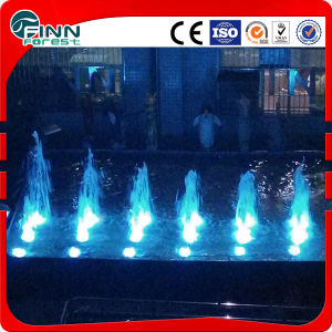 Christmas Tree Cedar Stainless Steel Music Water Fountain pictures & photos
