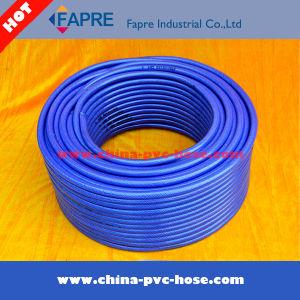 2017 Flexible PVC Plastic Blue Garden Water Hose pictures & photos