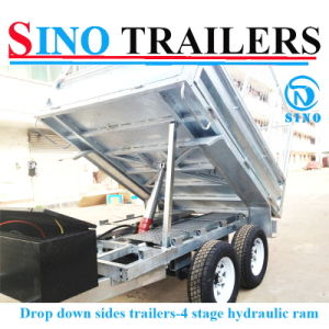 2016 Cheap Price Aluminium Tipping Trailer for Sale pictures & photos