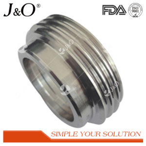 Sanitary Stainless Steel Tube Pipe Fittings Male Liner pictures & photos