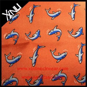 100% Silk Jacquard Woven Fabric for Neckties pictures & photos