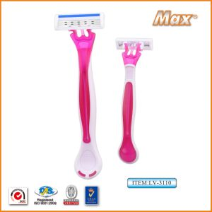 Triple Blade Razor for Lady pictures & photos