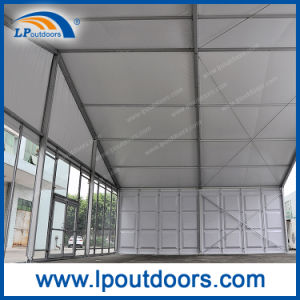 20m Clear Span Outdoor Large Marquee Event Tent with ABS and Glass Wall for Sale pictures & photos