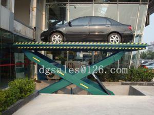 Hydraulic Scissor Car Lifter (SJG3-6) pictures & photos