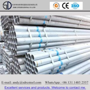 Round Steel Pipe Pre Galvanzied Multi Purposes pictures & photos