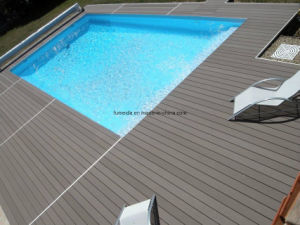 High Quality Wood Plastic Composite Outdoor WPC Solid Deck 140*25 pictures & photos