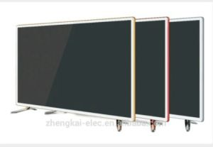"32""Steel Glass Panel with Metal Cover FHD, Smart Digital LED TV pictures & photos"