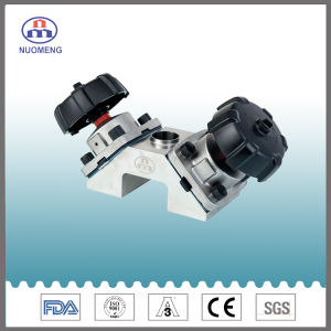 Stainless Steel Nuomeng Manual Welded Diaphragm Valve pictures & photos