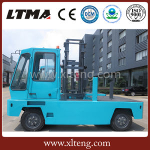 Ltma Electric Forklift 3 Ton Electric Side Loader Forklift with Battery pictures & photos