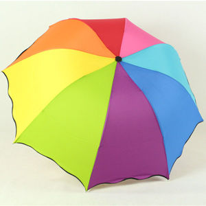 Lady Sun Umbrella Folding Rain Umbrella pictures & photos