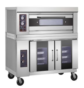 New Stainless Steel Commer⪞ Ial Oven with Proofer pictures & photos
