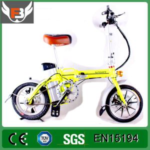12 Inch 48V Electric Folding Bike pictures & photos