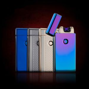 Creative Double Arc Pulsed Slim Windproof Lighter pictures & photos