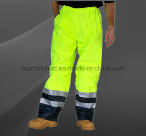 High Visibility Safety Pants Reflective Stripe for Worker pictures & photos