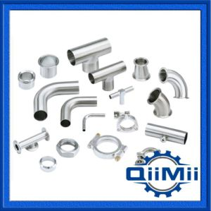 90 Degree Thread/Union Sanitary Stainless Steel Elbow pictures & photos