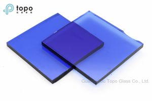 6mm-10mm Chinese Stable Dark Blue Swimming Pool Glass (C-dB) pictures & photos