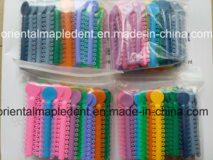 Ce, ISO Approved Orthodontic Ligature Ties (O type) pictures & photos