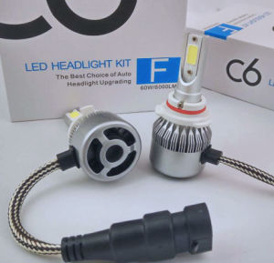 C6 COB Cars LED Headlight Motorcycle LED Headlight Auto Parts H4 H13 9004 (9007) H1 H3 H7 H8 H9 H11 9005hb4 9006hb3 880 881 H15 9012 pictures & photos
