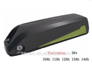 36V 10ah 11ah 12ah 13ah 14ah Electric Bike Bluetooth Li Ion Battery pictures & photos