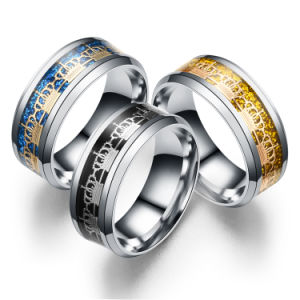 Stainless Steel Couples Jewelry Fashion Wedding Ring pictures & photos