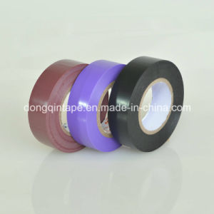PVC Electrical Tape, RoHS Approval Inductrial Tape Insulation Tape (19mm*5m/10m/20m/33m) pictures & photos