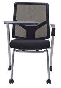 Folding Mesh Chair with Tablet and Wheels pictures & photos