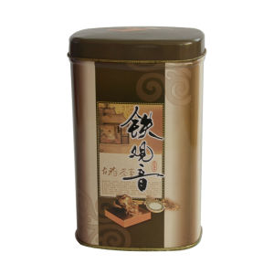 Chinese Factory Metal Square Tin Can Candy Box pictures & photos