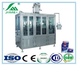 Automatic Gable Top Carton Milk Juice Filling Packing Machine pictures & photos