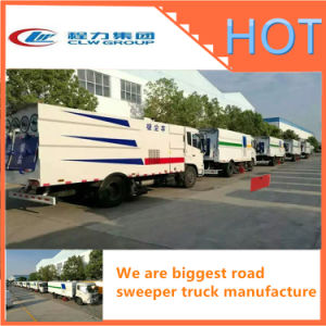 High Pressure Road Sweeper Truck Street cleaning Truck of Good Price pictures & photos