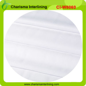 60GSM Thermal Bonded Non Woven Sew-in Fusible Interlining Garment Accessory pictures & photos