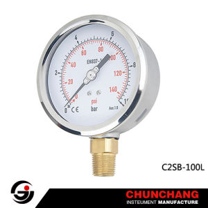 Wika Type Stainless Steel Case Pressure Gauge pictures & photos
