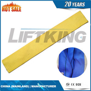 Endless Polyester Flat Webbing Sling 3ton Weight Lifting Belt pictures & photos
