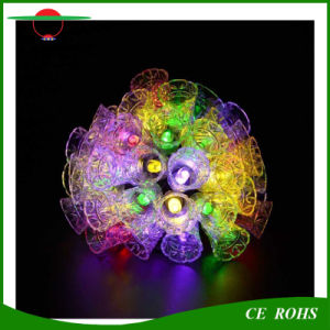 LED Solar Light Festival Decorative Light Jingle Bells Outdoor Garden Solar Fairy Christmas Tree Light 20LED/30LED/50LED pictures & photos