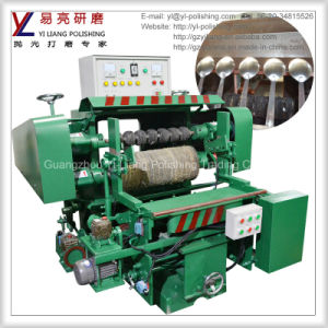 Spoon and Fork Outer and Inner Arc Surface Polishing Machine pictures & photos