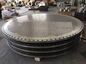 Customized Titanium Alloy Gr2 Steel, Tube Sheets Cladded-Plate Manufacture pictures & photos