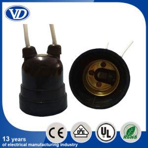 E27 Bakelite Lamp Holder with Plug