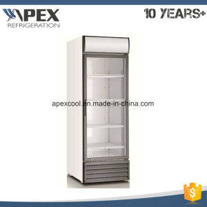 550L Single Transparent Door Convenient Store Showcase pictures & photos