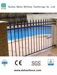 Black Powder Coated Pool Fence with High Quality and Discount Price pictures & photos