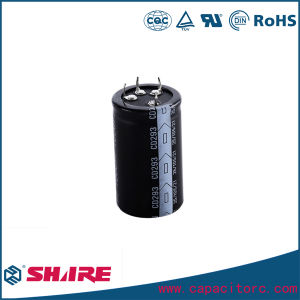 Motor Start CD60 Aluminum Electrolytic Capacitor pictures & photos