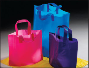 Factory Selling Directly Wholesale Recyclable Custom Plastic Shopping Bag pictures & photos