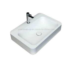Bathroom Artificial Stone Table Top Basin (PB2062) pictures & photos