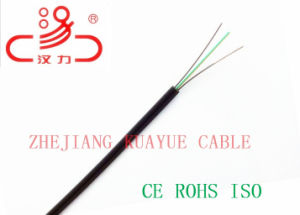 FTTH Drop Wire 4c Fiber Optic/Computer Cable/ Data Cable/ Communication Cable/ Connector/ Audio Cable pictures & photos