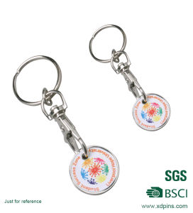 Wholesale Custom Supermarket Trolley Token Coin Promotional Gifts pictures & photos