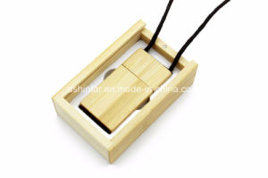 Wood Square USB Memory Flash Disk USB Pendrive pictures & photos