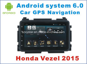 New Ui Android System Car Accessories for Vezel 2015 with Car Navigation pictures & photos
